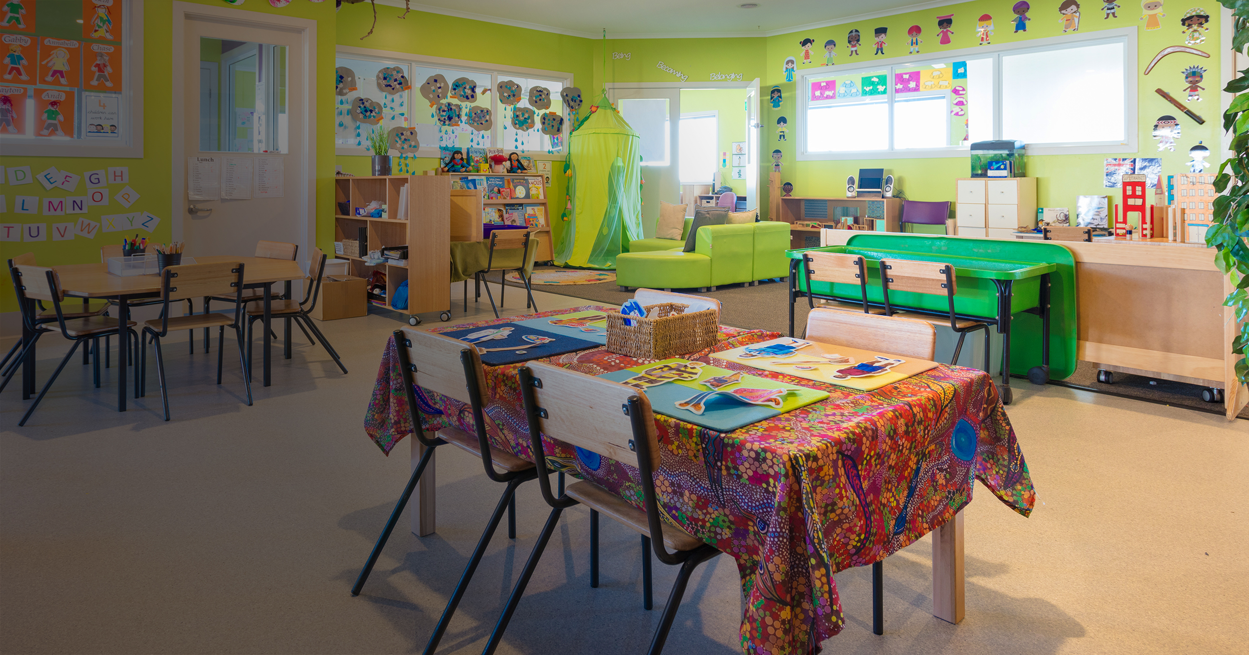 Childcare and Kindergarten Play Rooms